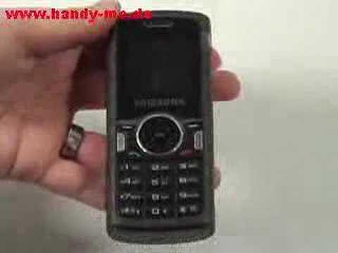 Samsung SGH M110 Erster Eindruck