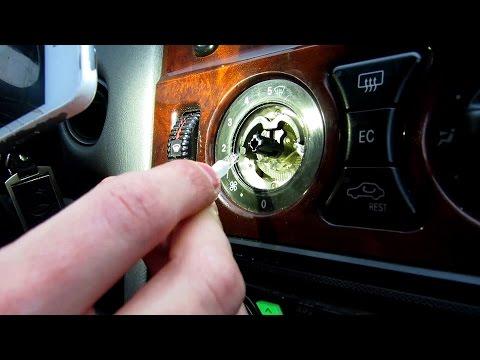 Замена лампочек климата Mercedes W210, отвечаю на вопросы
