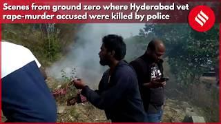 Ground Zero: Scenes at Hyderabad site where police killed vet rape accused