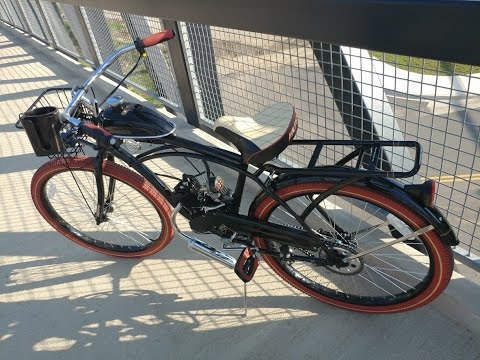 "Heavy duty ""luxury edition"" motorized bicycle *RIDE* nel lusso 26"" 66/80cc. *SOLD*"