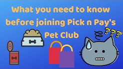 PnP Pet Club | Shopping for your pets at the grocery store