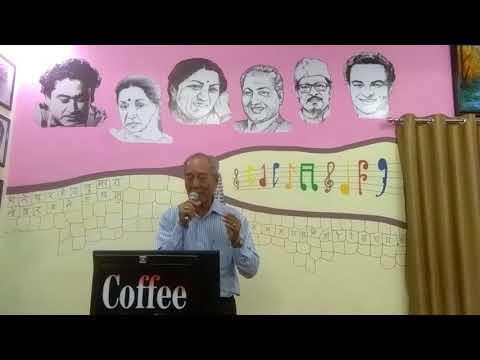 Aapke haseen Rukh pe aaj Naya nope hai a fabulous song of mohd Rafi sung by Dr liao