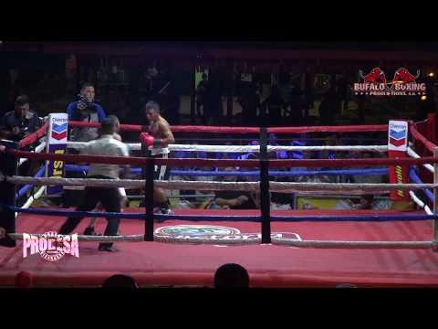 Daniel Mendoza VS Byron Castellon - Bufalo Boxing Promotions
