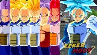 Trunks SSJ,SSJ2,SSJ3,SSJ4,SSJGod,SSJBlue | Dragon Ball Z Budokai Tenkaichi 3