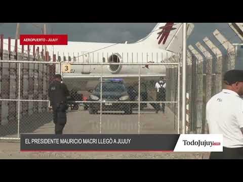 El presidente Mauricio Macri ya está en Jujuy para cumplir con una agenda apretada