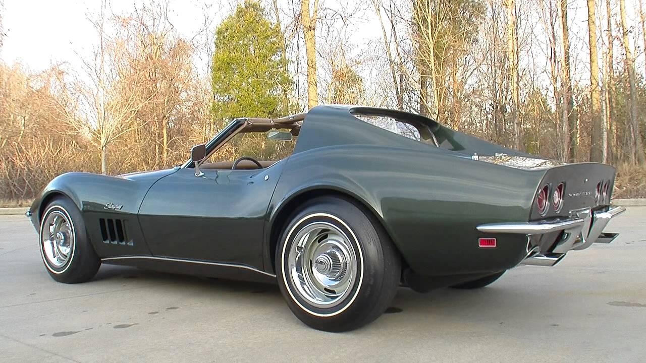 135008 1969 chevrolet corvette stingray youtube