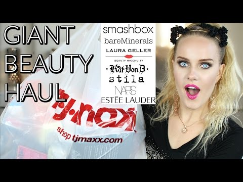 HUGE TJmaxx Beauty Haul