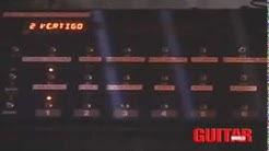 U2 The edge's Vertigo tour guitar rack tour