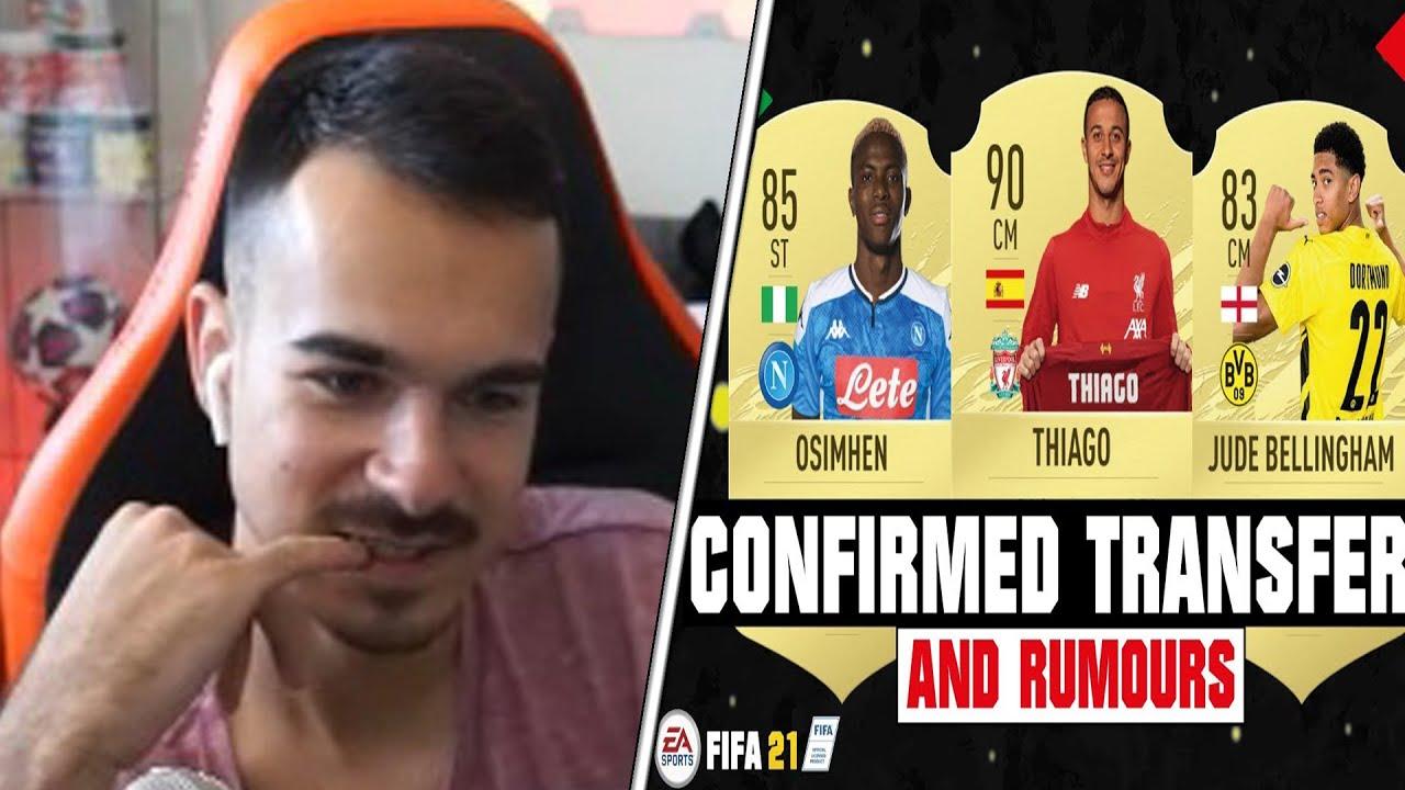 REAKTION auf FIFA 21 TRANSFERS🤔 TEIL 2/2🔥