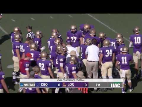 University of Dubuque vs Loras College Football 11-5-16