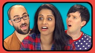 YOUTUBERS REACT TO FIVE NIGHTS AT FREDDY