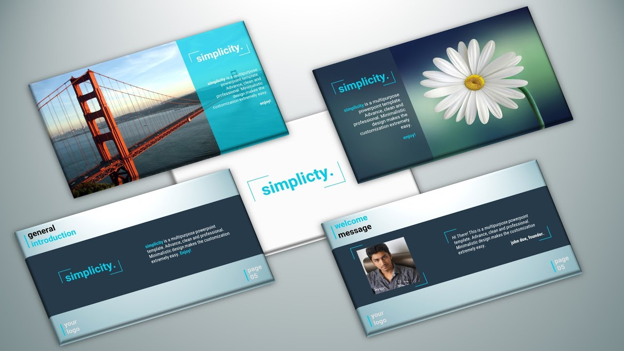 Powerpoint presentation title slide design simplicity template powerpoint presentation title slide design simplicity template pronofoot35fo Image collections