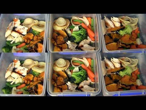 MEAL PREPPING ♥ HOW I PREPARE HEALTHY MEALS FOR THE WEEK!