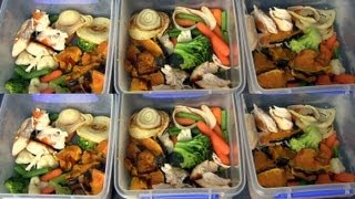 MEAL PREPPING ? HOW I PREPARE HEALTHY MEALS FOR THE WEEK!