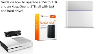 Upgrade Guide for 2TB PlayStation 4 & 1TB Xbox One Hard Drive for cheap PLUS how to keep P.T.! PS4