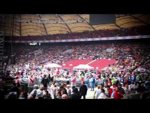 LEHLE visiting Pete Honorè & Alex Grube at Helene Fischer Stadium Tour 2015