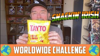 Snackin' Irish- WORLDWIDE SNACK CHALLENGE!