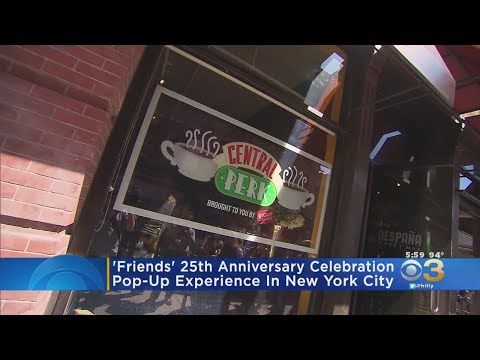 Kristin - Friends Pop-up Shop and Museum in NYC to Celebrate Show's 25th Anniversary!