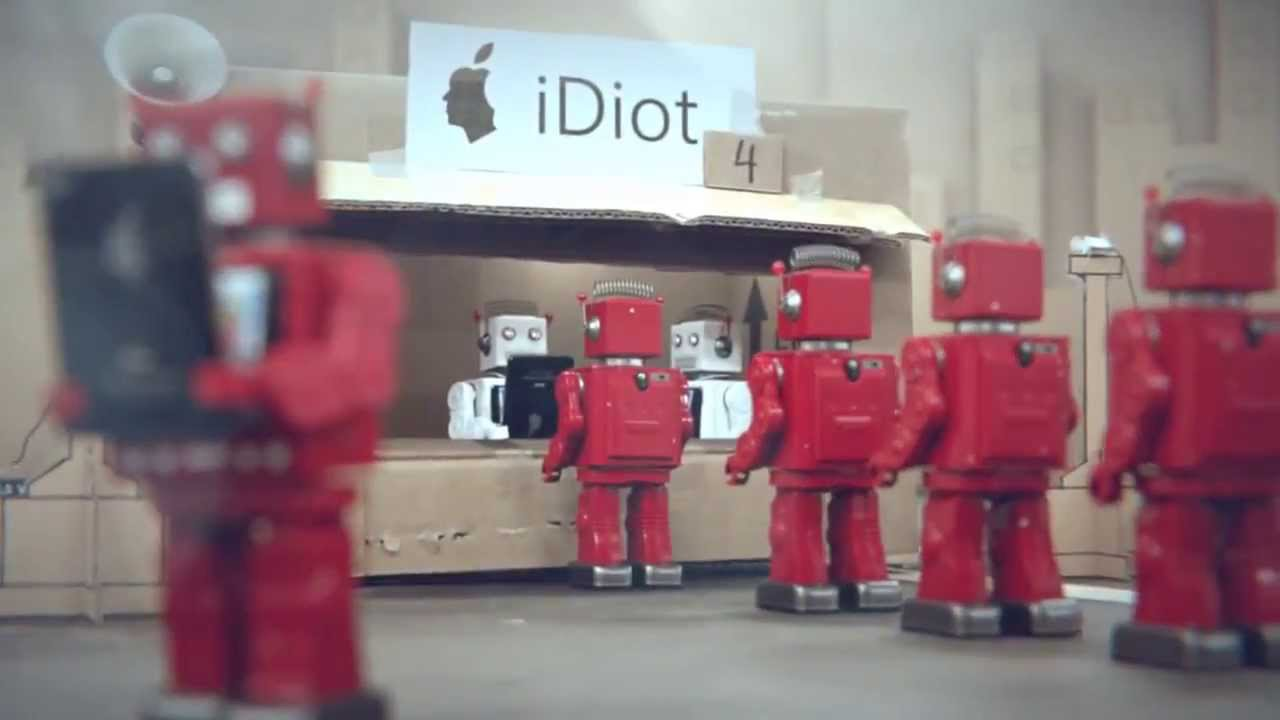 IDIOTS - iPhone Parody