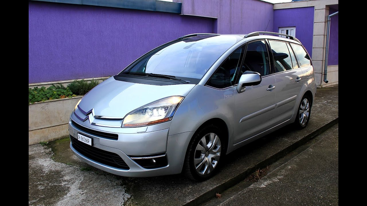 citroen c4 grand picasso 2008 exclusive youtube