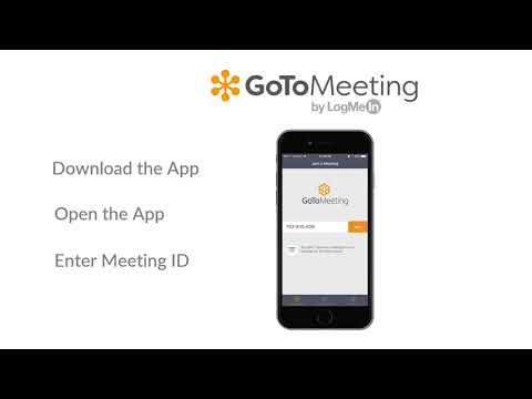GoToMeeting -  How To Join A Meeting