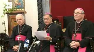 El Patriarca de Jerusalén desea una mayor implicación de la UE