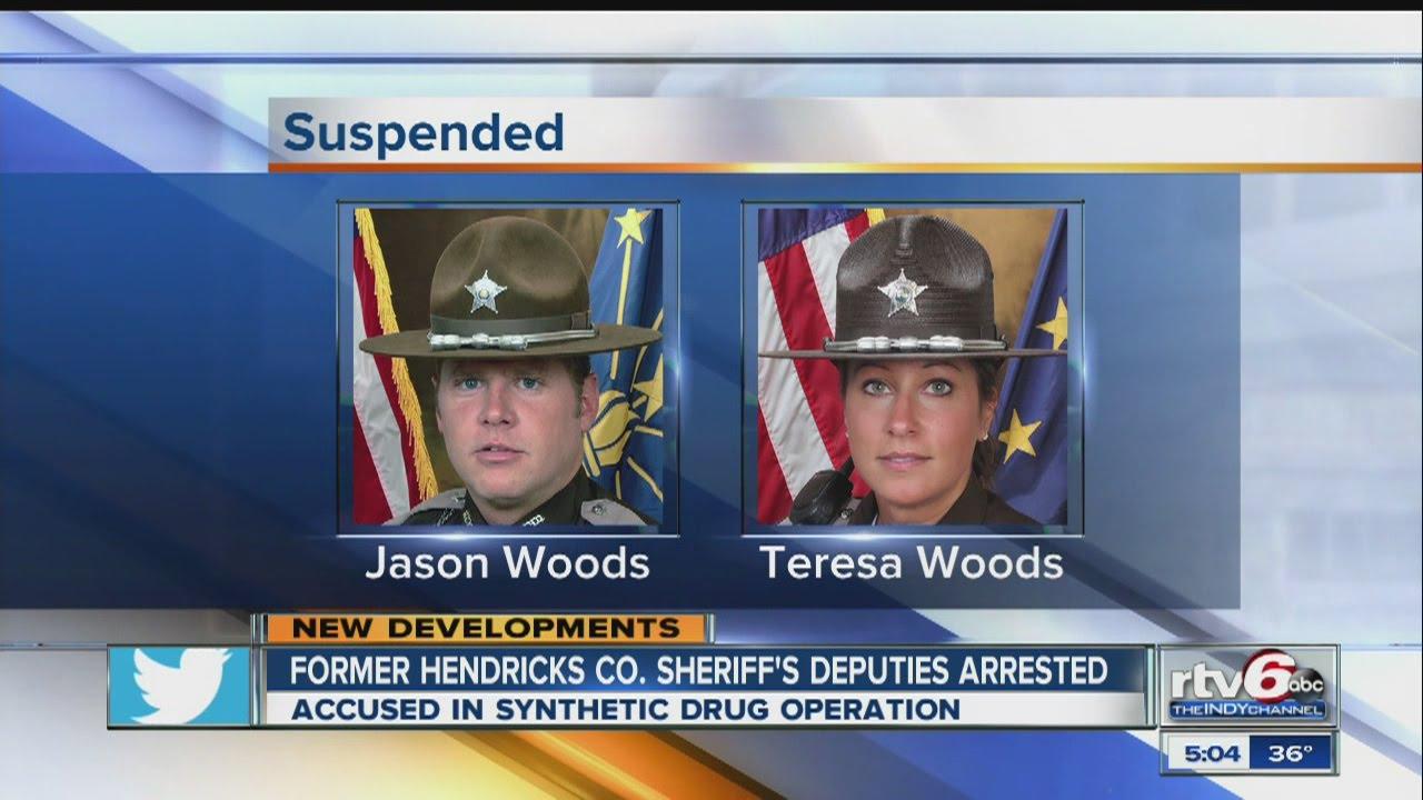 Former Hendricks County Sheriff's deputies arrested - YouTube