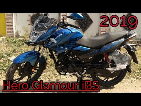 Hero new Glamour ibs 2019 model full review in Hindi price and mileage and engine sound