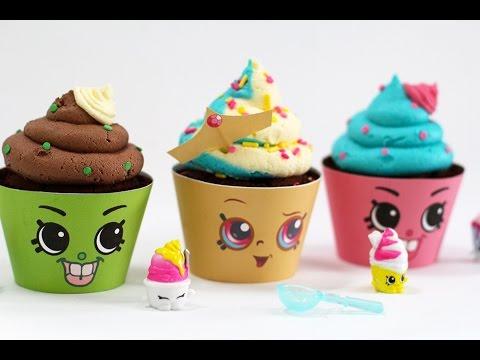 Shopkins Cupcakes! Queen Cupcake U0026 Cupcake Chic | My Cupcake Addiction