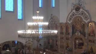видео Великое и малое освящение воды. Воздвижение Креста. Освящение храма. Освящение мира