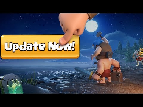 Maintenance Break Coming In Clash Of Clans | October Update Arrived