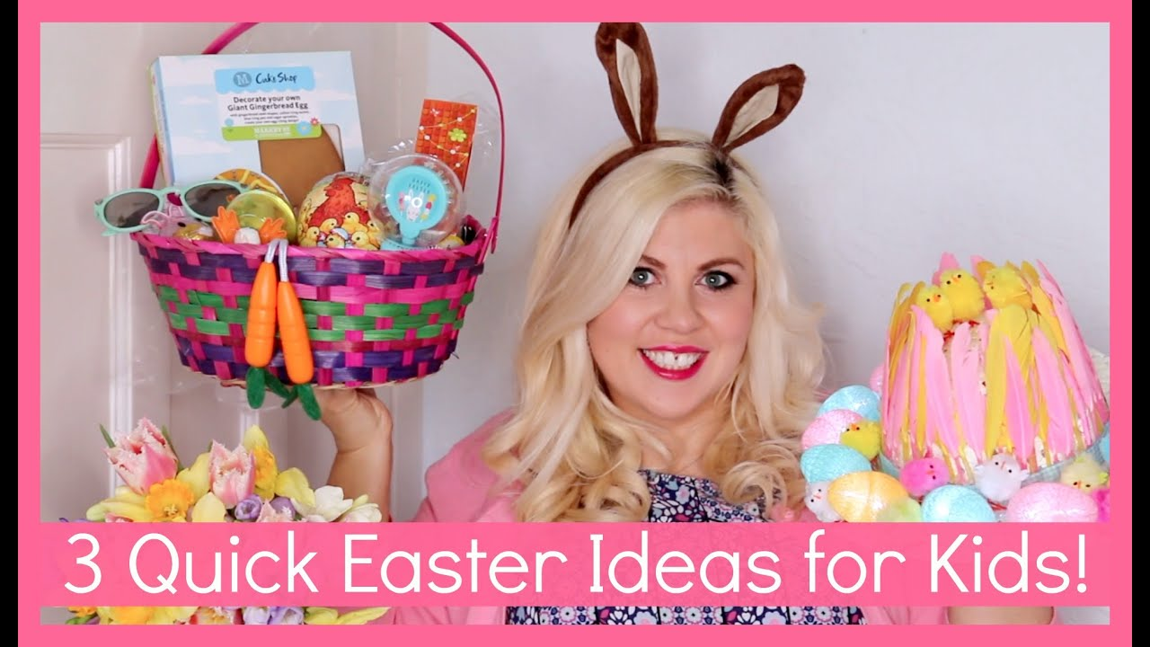 3 quick easter ideas for kids youtube negle Image collections