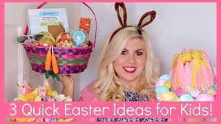 3 Quick Easter Ideas for Kids!