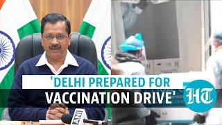 '4 days a week at 81 sites': Delhi CM Kejriwal gives vaccination drive details