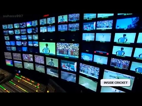Inside The Control Room In Cricket Broadcasting Channel