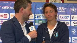 Brescia CF-Empoli Ladies interviste dopogara (5-5-2018)
