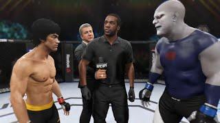 Bruce Lee vs. Darkseid (EA Sports UFC 2)