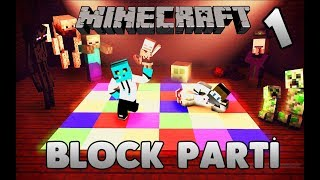 Minecraft Minigame - BLOCK PARTY BÖLÜM 1