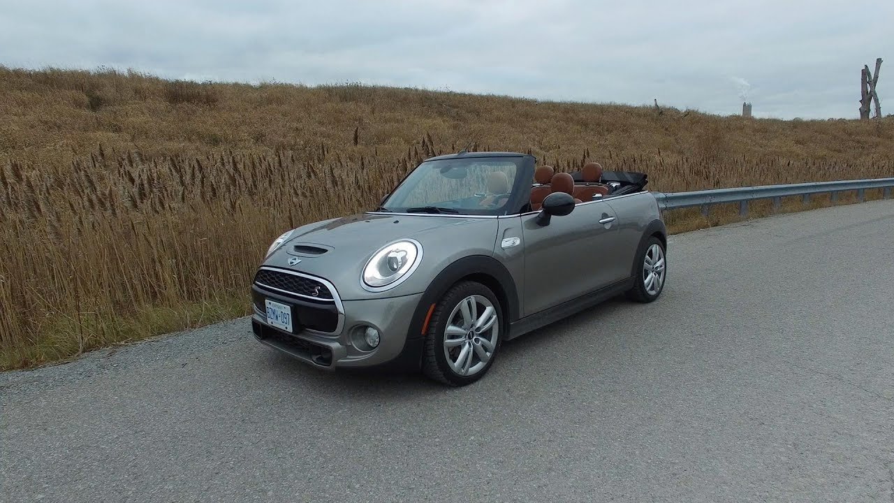 2016 Mini Cooper Hardtop Review >> 2017 Mini Cooper S Convertible - Review - YouTube