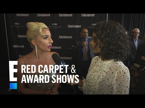 Lady Gaga is Blown Away by Bradley Cooper's Voice in Movie | E! Red Carpet & Live Events