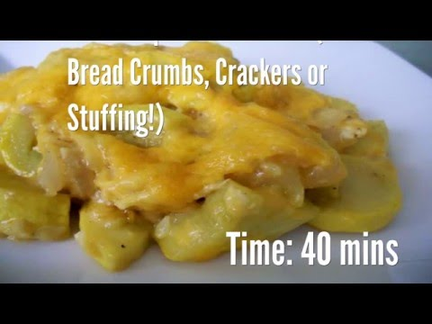 Better Squash Casserole (No Bread Crumbs, Crackers Or Stuffing!) Recipe