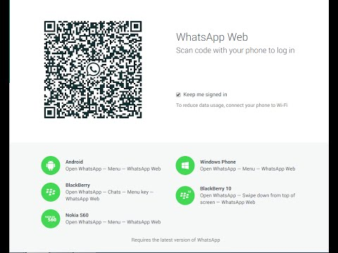 how to connect whatsapp  to web  pc/laptop
