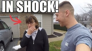 SURPRISING MY MOM WITH HER DREAM CAR FOR CHRISTMAS!!!... Here