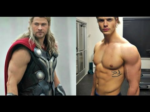 Chris Hemsworth God-Like Thor Workout - YouTube