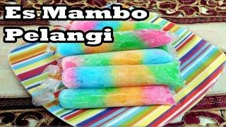 Resep Cara Membuat Es Lilin/Mambo Jelly Pelangi