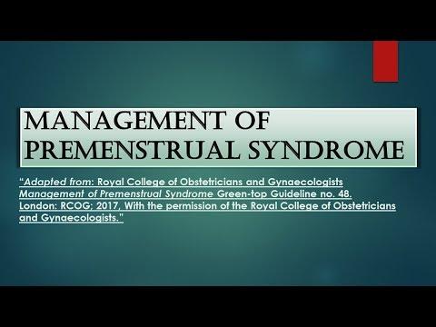 RCOG Guideline Management of Premenstrual Syndrome No.48