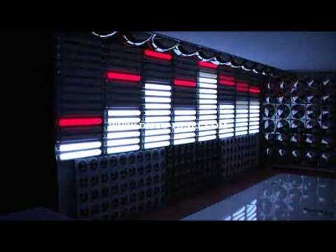 led disco panel equalizer pixel wall and ceiling panel