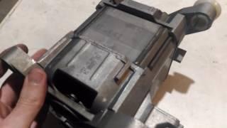 #Ремонт Стиральной машины Bosch Бош. Как поменять Щётки двигателя