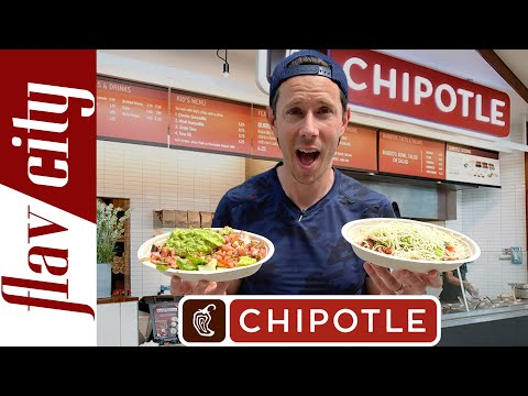 Is Chipotle The HEALTHIEST Fast Food?   With Full Menu Review