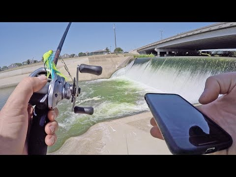 Finding New Bass Fishing Ponds With IPhone App
